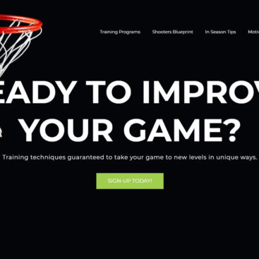 Cramber Basketball Membership Site Portfolio Featured Image